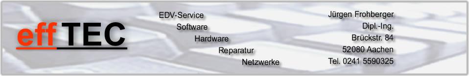 effTEC Computer Notebook Service